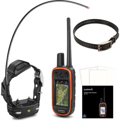 Alpha 100/TT 15 mini Track and Train Dog Device - Dog Collar Black Bundle