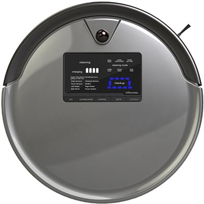 PetHair Plus Robotic Vacuum Cleaner and Mop, Charcoal - OPEN BOX