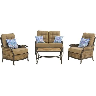 Hudson Square 4-Piece Seating Set - HUDSONSQ4PC