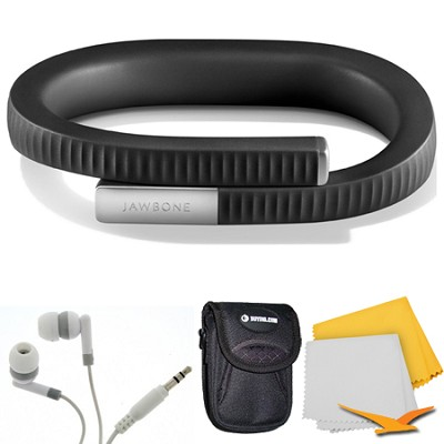 UP 24 Bluetooth Enabled Large - Retail Packaging - Onyx Bundle