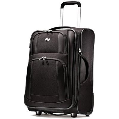 iLite Supreme 21 Inch Upright Suitcase (Black)