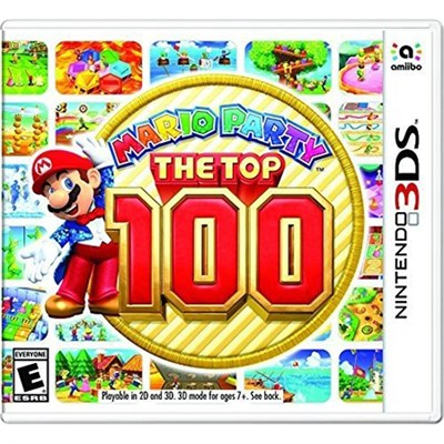 Mario Party The Top 100 for 3DS - CTRPBHRE