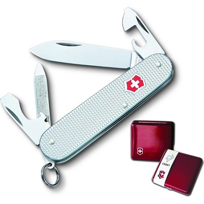 59117 Cadet Swiss Army Knife in Ruby Gift Box
