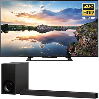 60-Inch 4K Ultra HD Smart LED TV 2017 Model + Sony 3.1ch Soundbar