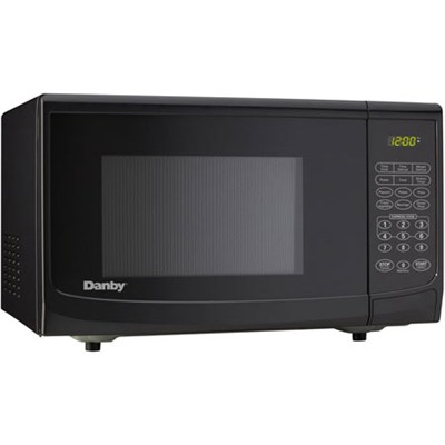 0.7 cu.ft. 700 Watt Countertop Microwave, Black