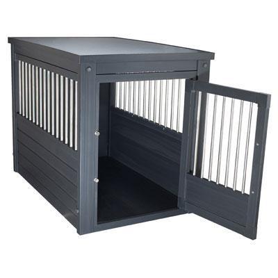 Small InnPlace II Pet Crate in Espresso - EHHC402S