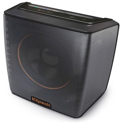 Groove Portable Bluetooth Speaker (Black) 1062378 Certified Refurbished