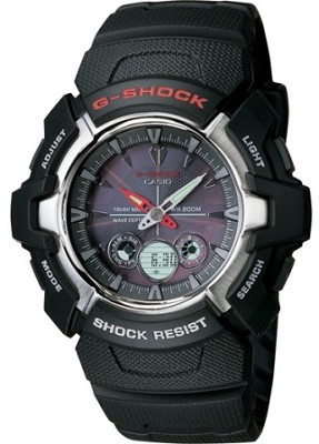 GW1500A-1AV - Men's G-Shock Ana-Digi Solar Atomic Watch
