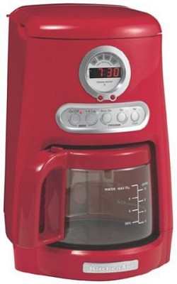 Java Studio Coffee Maker : BuyDig.com - KitchenAid JavaStudio KCM511ER Coffee Maker, Red