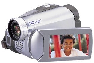 PV-GS59 Digital Palmcorder With 30x Optical Zoom, 2.7` LCD, USB 2.0 -Refurbished