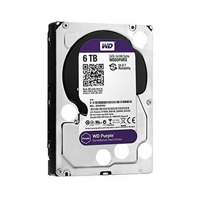 Purple WD60PURX 6TB Surveillance 3.5` Internal Hard Drive