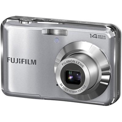 FinePix AV200 14 MP 2.7 Inch LCD Digital Camera w/ Fujinon 3x Zoom Lens - Silver