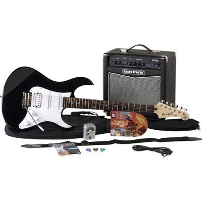 Gigmaker Electric Guitar Package - Black