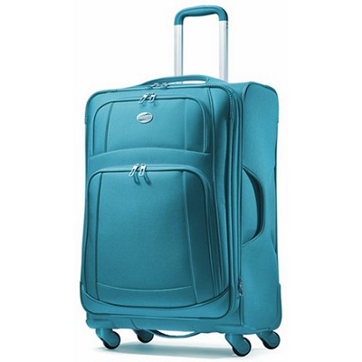 iLite Supreme 29` Inch Spinner Suitcase - Seaport Blue