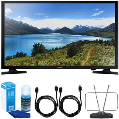UN32J4000 32-Inch 720p LED TV (2015 Model) w/ Accessory Bundle