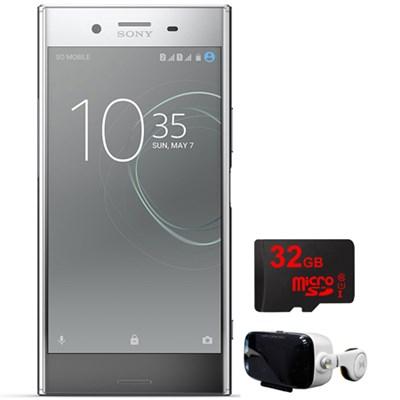 Xperia XZ 64G 5.5` Smartphone Unlocked Chrome w/32GB+Virtual Reality Cinema