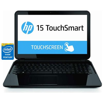 TouchSmart 15.6` HD 15-d040nr Notebook PC - Intel Pentium N3510 Processor