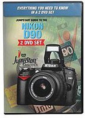 JumpStart Video Training Guide on DVD for the Nikon D90 Digital Camera