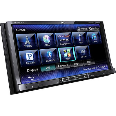 KWNSX700 Bluetooth Enabled In-Dash Double DIN Audio Video Reciever
