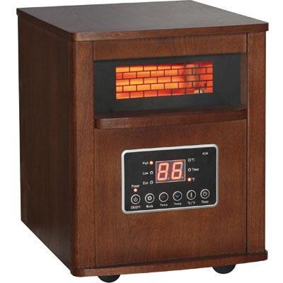 Dura Heat Infrared Quartz Heater with Wood Cabinet - DH2000C