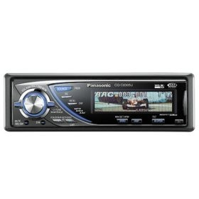 CQ-C8305U In-Dash Receiver w/CD player and  iPod-ready MP3/WMA playback