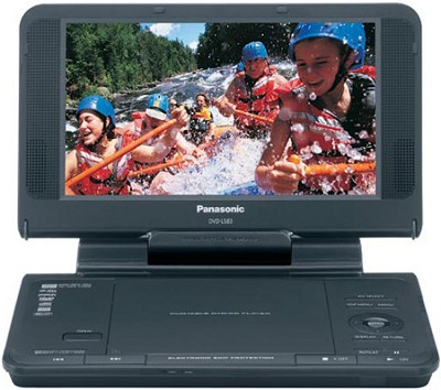 DVD LS855 - DVD player - portable 8.5` Display