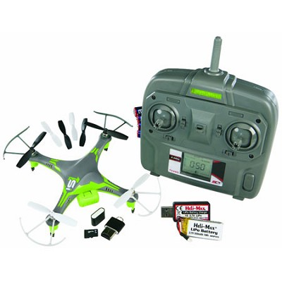 RTF SLT 2.4GHZ 1Si Quadcopter with Camera