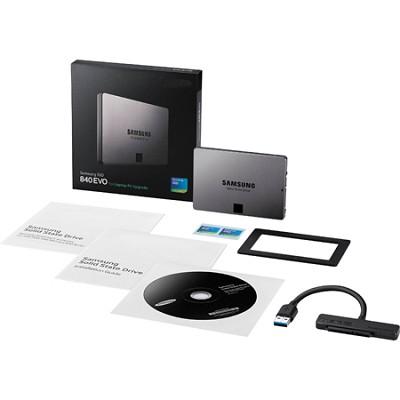 500GB 2.5` SATA III SSD 840 EVO-Series Notebook Full Kit Version - MZ-7TE500LW