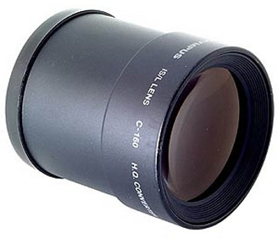 C-160 Tele Lens for IS-Series Cameras with a 52mm Filter Size