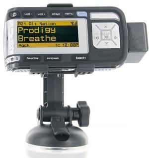 XTR5CMK Rego Recordable Satellite Radio Receiver w/ MP3 Player + Vehicle Kit