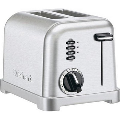 2-Slice Metal Classic Stainless Steel Toaster - Factory Refurbished