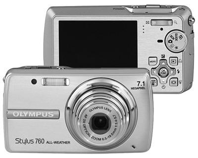 Stylus 760 (Silver) Digital Camera