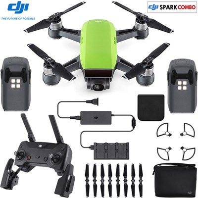 SPARK Fly More Drone Combo Meadow Green (OPEN BOX)