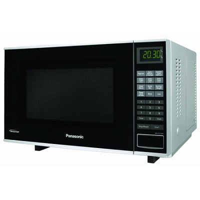 1.0 cuft 1000-Watt Microwave with Inverter Technology, Black