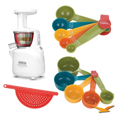 Silent Juicer NS-750 Upright Masticating Bundle
