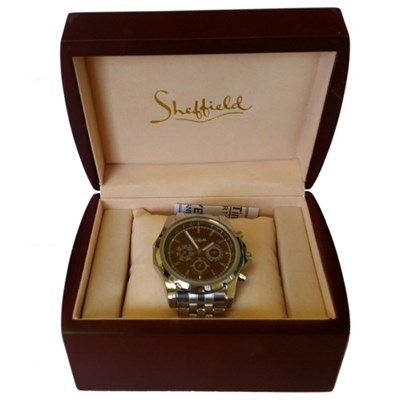 Classic Collection Mens Automatic Silver  Watch - 72087 - OPEN BOX