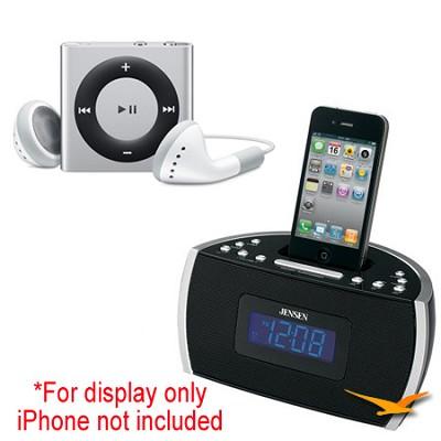 JiMS-125i Docking Digital Music System and iPod Shuffle Bundle