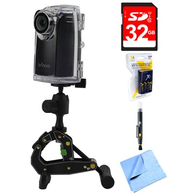 Time Lapse HD Video Camera BCC200 with 32GB Memory Card Bundle