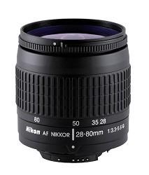 28-80mm  F/3.5-5.6 G AF Silver Lens, With Nikon 5-Year USA Warranty
