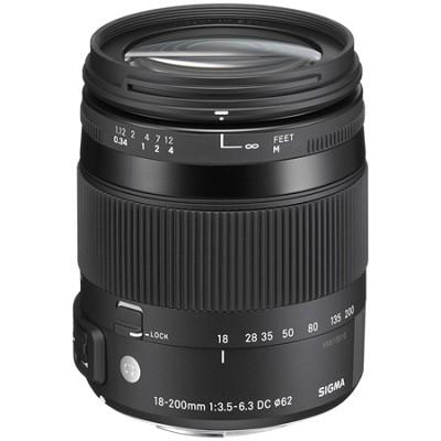 18-200mm F3.5-6.3 DC Macro OS HSM Lens for Sony/Minolta Mounts