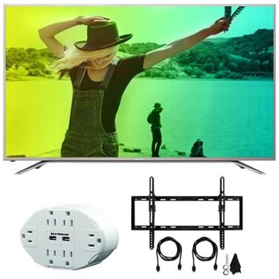 Aquos N7000 50` Class 4K Ultra WiFi Smart LED HDTV 50N7000U w/Mount Bundle