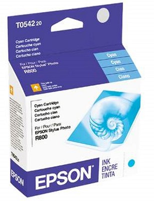 Cyan Ink Cartridge T054220 For R800