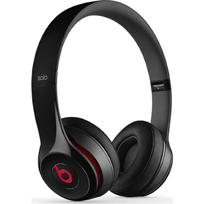 Solo 2 On-Ear Wired Headphones - Black - OPEN BOX