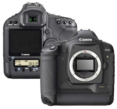 EOS 1D Mark III DSLR (lens not included)