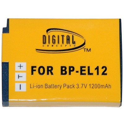 BP-EL12 - 1200mAh Lithium Replacement Battery for Nikon EN-EL12