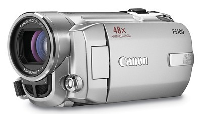 FS100 SD Flash Memory Camcorder (Silver)