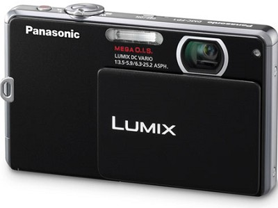 DMC-FP1K LUMIX 12.1 MP Digital Camera (Black) - Refurbished