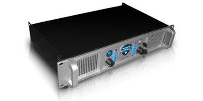 LX-3100 2U Professional 2CH Power Amplifier (Silver)