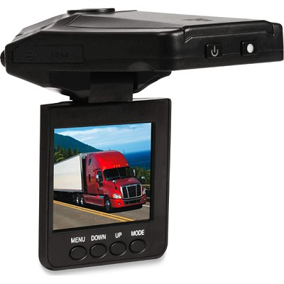 Premium Night Vision DVR Dash Cam - Black