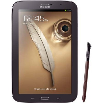 8` Galaxy Note 8.0 16GB Brown Tablet with Android 4.1